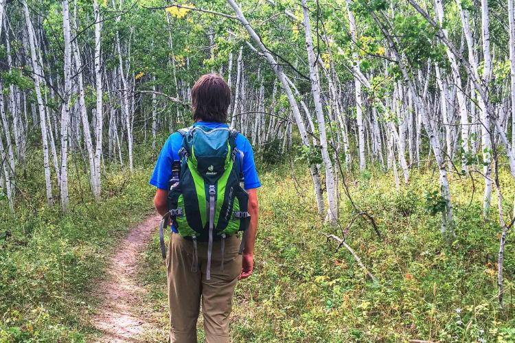 Leave no Trace - caminhe e acampe em superfícies duráveis
