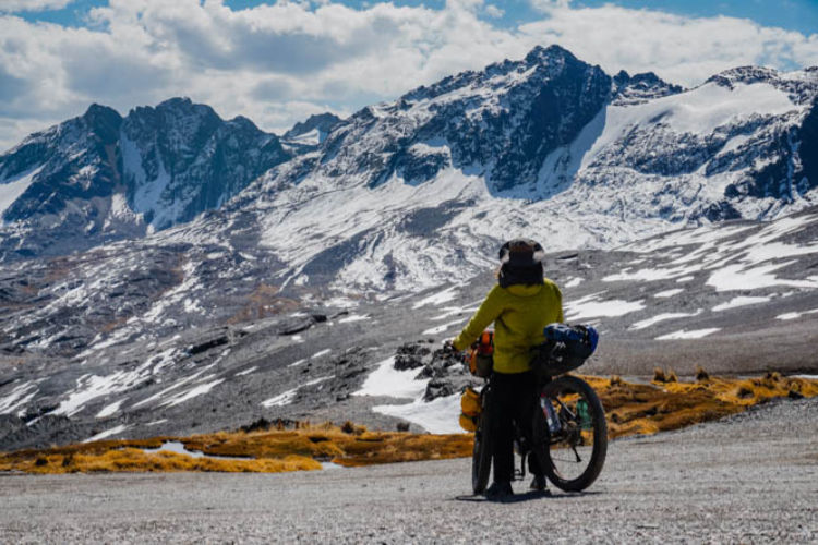 Viajando no estilo bikepacking