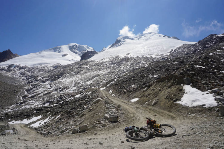 Bikepacking nos Andes