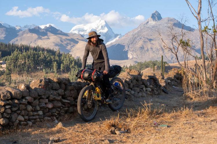 Bikepacking pelos Andes