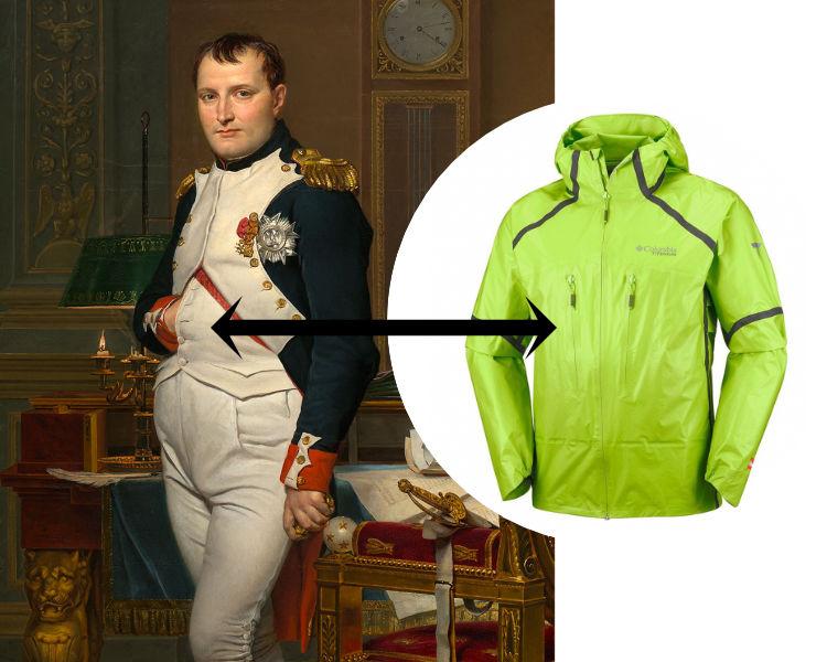 Bolso Napoleão - Jaqueta Columbia