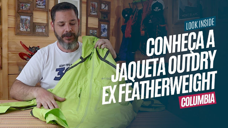 Conheça a Jaqueta Columbia Outdry™ Ex Featherweight