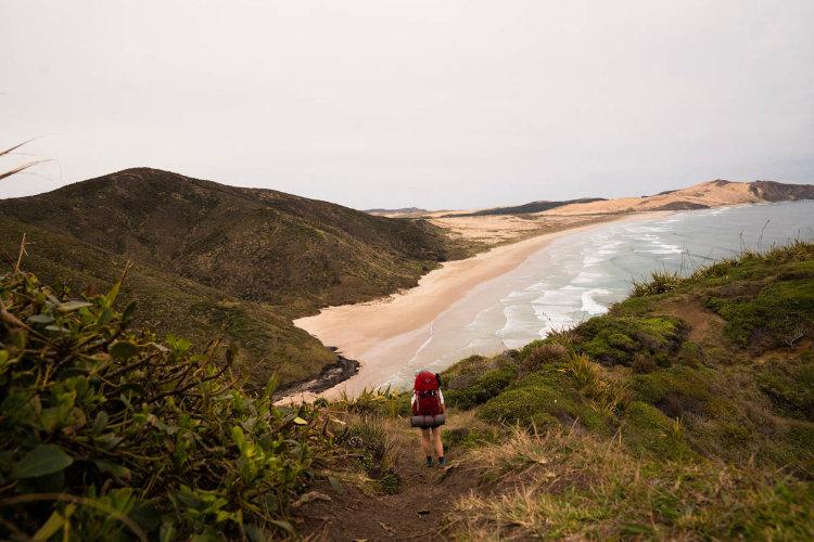 Caminhada Trilha de longo Curso Te Araroa Trail