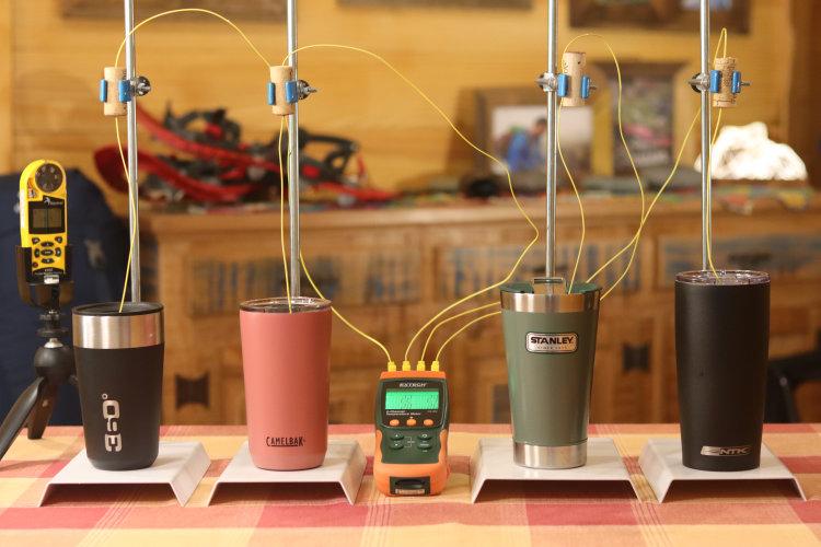 Teste comparativo de copos térmicos - Gear Tips Lab