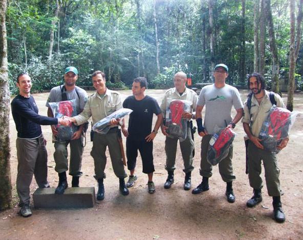 Deuter apoio Parque Nacional da Tijuca