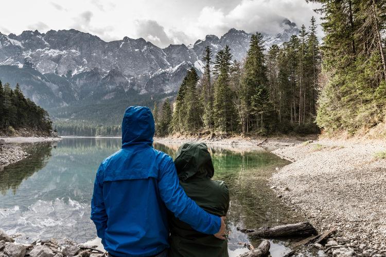 Admirando a natureza