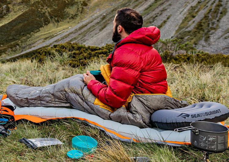 Travesseiro Aeros Pillow Sea to Summit - Bikepacking