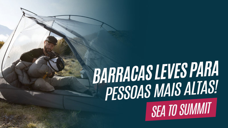 Novas barracas ultralight da Sea to Summit