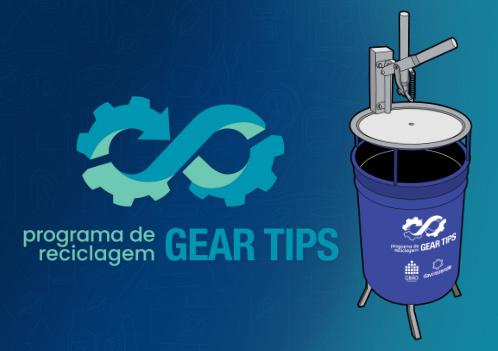 Programa de Reciclagem de Cartuchos de Gás Gear Tips